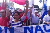 Oposición nicaragüense realiza protesta 42 demandando elecciones libres