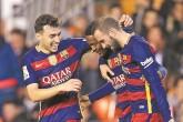 Barcelona cumple trámite y mejor récord