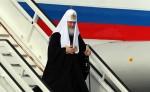 El patriarca ruso, Kiril, arriba al aeropuerto José Martí de La Habana, Cuba, para su encuentro histórico con el papa Francisco. LA PRENSA/EFE/Alejandro Ernesto