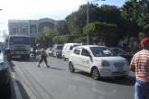 Taxistas de Granada siguen en huelga