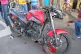 Motociclista grave tras accidente de tránsito en León