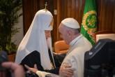 Papa Francisco se reúne con el patriarca ortodoxo ruso Kirill