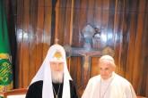 Histórico encuentro entre el papa Francisco y patriarca ruso