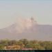 Volcán Telica vuelve a emanar gases y cenizas