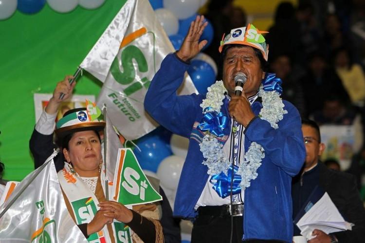 Escándalo merma a Evo Morales