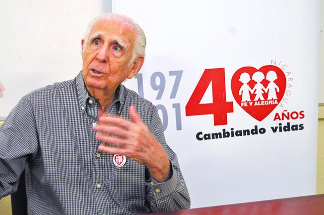 Fallece padre Fernando Cardenal