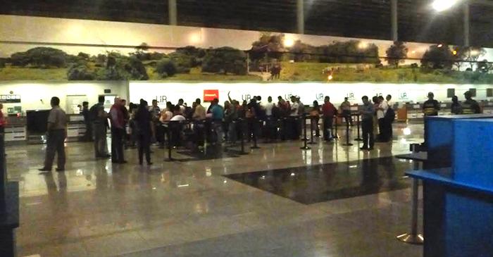 A partir de la próxima semana, los cubanos varados en Costa Rica partirán desde el aeropuerto Juan Santamaría de Alajuela. LA PRENSA/J. BRAVO
