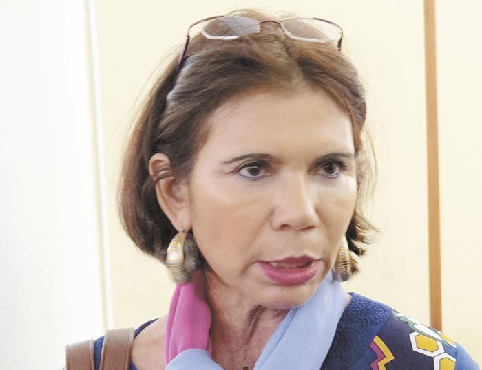 La presidenta de la Comisión de Asuntos de la Mujer, Juventud, Niñez y Familia, Martha Marina González, dijo desconocer las denuncias contra Mifamilia. LA PRENSA/Deliana