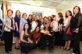 La pintora María Lourdes Centeno recibe homenaje