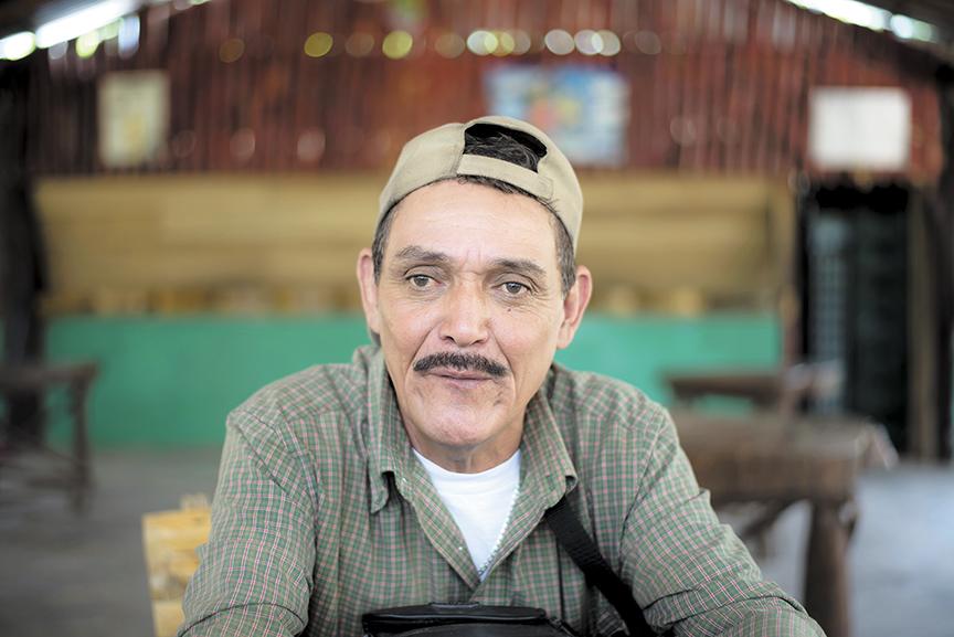 Ernesto Herrera, secretario de Organización del PLI en El Cua. LA PRENSA/OSCAR NAVARRETE