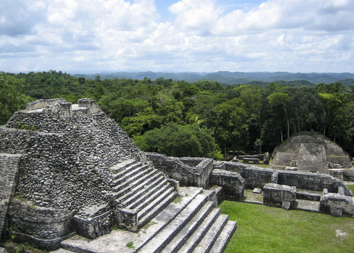 Ruinas El Caracol, en Belice. LA PRENSA/Thinkstock