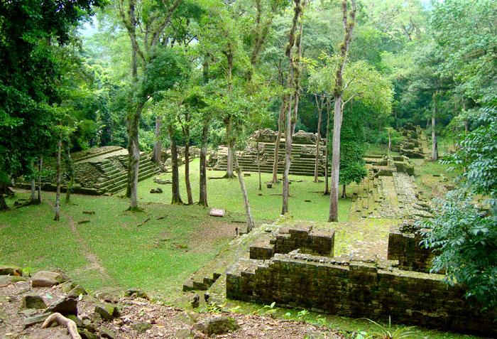 Ruinas de Copán, en Honduras. LA PRENSA/Thinkstock