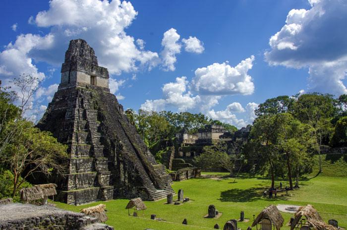 Ruinas de Tikal, en Guatemala. LA PRENSA/Thinkstock