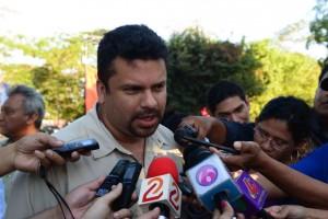Fidel Moreno, secretario de la Alcaldía de Managua.
