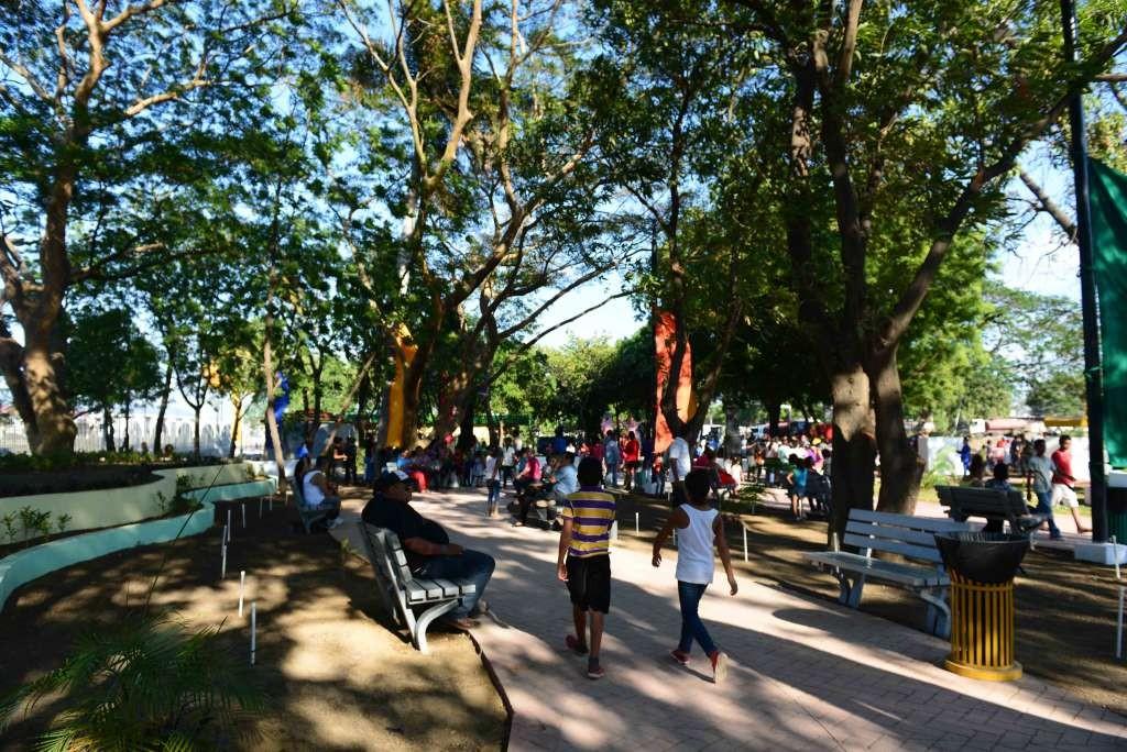 El acceso al parque es gratis.