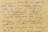 Manuscrito de Boris Pasternak subastado por 77.500 dólares en NY