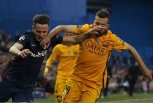 Atlético vs Barsa. LAPRENSA/ EFE