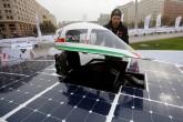 Carrera solar enciende motores en el desierto de Atacama en Chile