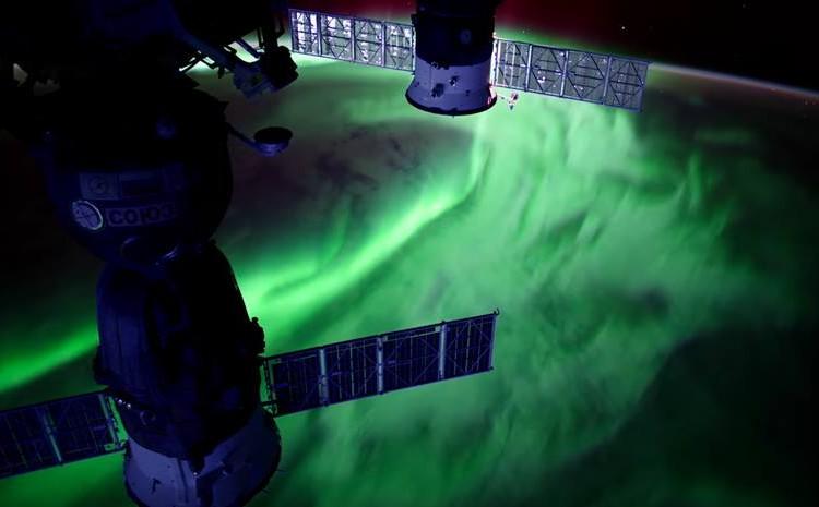 NASA capta presunto ovni durante transmisión en vivo