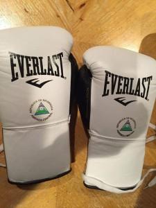 Los guantes de Román. LAPRENSA/ CORTESÍA