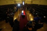 Los restos de Neruda llegan al Congreso chileno, donde serán velados