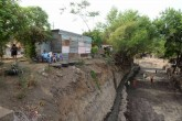 Peligro de derumbes en los barrios Domitila Lugo y Las Torres de Managua