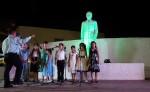 La mayoría de los  niños son de  Chacraseca,  ubicada  12 kilómetros al este de León y forman parte de un programa de poesía y oratoria. LA PRENSA/E.LOPEZ
