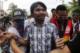 Extremistas amenazan con secuestrar a Manny Pacquiao