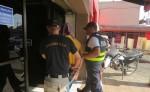 El nicaragüense sospechoso quedará con un informe a las órdenes del Ministerio Público, para que se le determine su situación jurídica. Cortesía OIJ