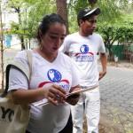 Movimiento Democrático realiza encuesta sobre suministro de agua