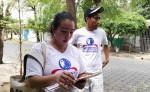 Movimiento Democrático Nicaragüense (MDN) realiza encuesta sobre el abastecimiento de los pozos en Managua. LAPRENSA/M.CALERO