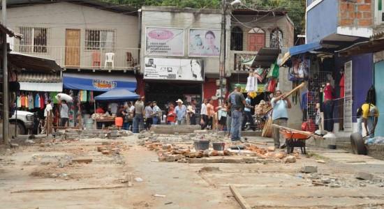 Atrapados por anexo de mercado de Boaco