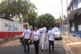 MDN realiza encuesta sobre servicio de agua potable en barrios de Managua