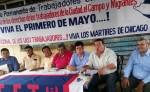 Confederación Permanente de los Trabajadores anuncia marcha para el 1 de mayo. LA PRENSA/ E. ROMERO