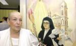 Mercedes Gordillo, es una de las personalidades del país  que más ha trabajado por dar a conocer la vida y obras de la Beata sor María Romero. LA PRENSA/ ARCHIVO