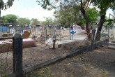 Cementerio abandonado en Malacatoya