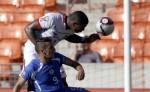 Daniel Cadena con la Selección en la Copa Centroamericana 2014. LAPRENSA/ AP Photo/David J. Phillip