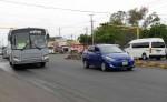 La Alcaldía de Managua contempla colocar dos puentes peatonales en el tramo ampliado de la Pista Solidaridad  para evitar que los peatones sean atropellados al cruzar los seis carriles. LAPRENSA. L.VILLAGRA