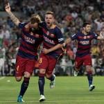 Barsa, Atlético y Real Madrid no sueltan la Liga española