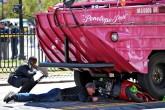 Muere mujer en choque de vehículo anfibio de turismo