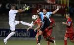 Bernardo Laureiro abrió el marcador por el Ferretti. LAPRENSA/ JADER FLORES