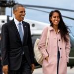 Malia Obama estudiará en Harvard