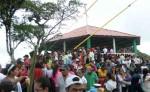 En la Peña de La Cruz  se realizará una misa campal. LA PRENSA/ARCHIVO/S. RUIZ