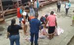 El cuerpo de Edwin Pozo fue recuperado hace pocos momentos en Paso Caballos. LA PRENSA/SAÚL MARTÍNEZ