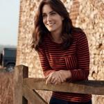 Kate Middleton posa por primera vez para la revista Vogue
