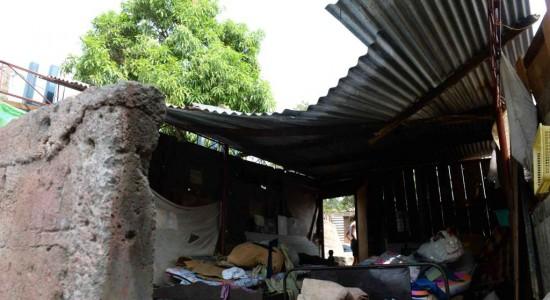 Primeras lluvias afectan 29 viviendas pobres de Nicaragua