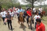 Luis Callejas recorre comunidades rurales de El Viejo, Chinandega