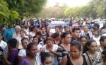 Ayer en Chinandega fueron sepultados Nahara Rebeca Galdámez Ríos y Edwin Sterling Pozo Martínez. LA PRENSA/SAÚL MARTÍNEZ