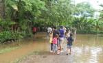 Hace cuatro años varias familias del barrio San Antonio, Potosí,  tuvieron que ser evacuadas ante las inundaciones. LA PRENSA / ARCHIVO / R. VILLARREAL