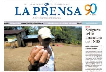 Portada LA PRENSA – 03.05.2016